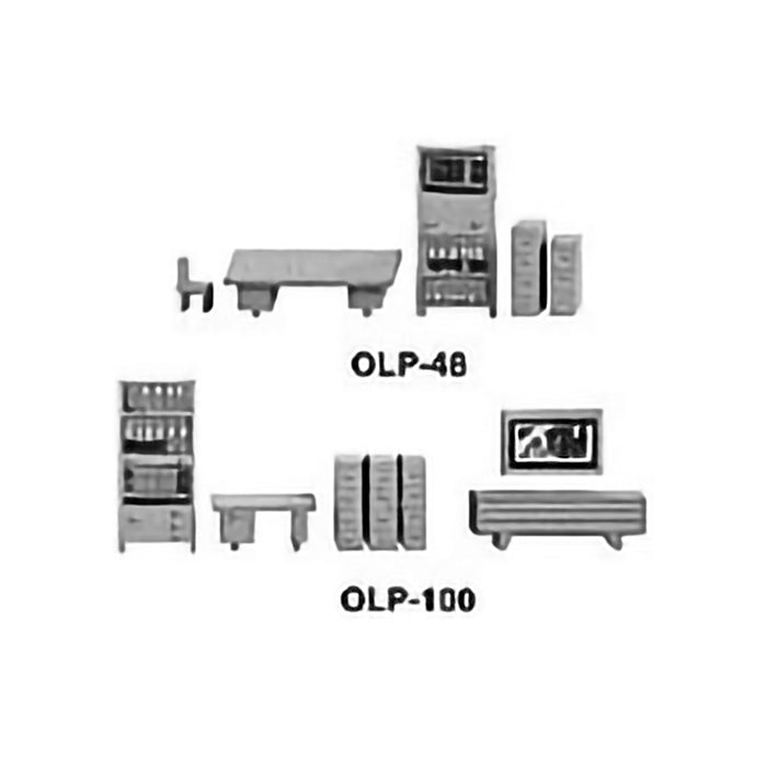 1:100 OFFICE SET OF 14