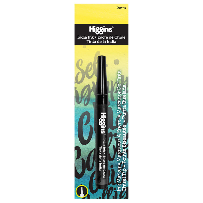 HIGGNS INDIA INK CHISEL MARKER