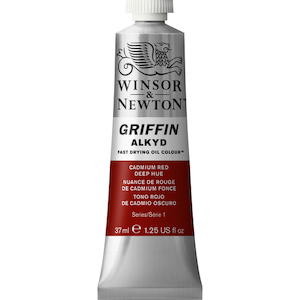 GRIFFIN 37ml TUBE CADMIUM RED DEEP HUE