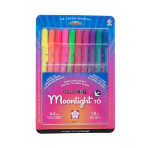 GELLY ROLL MOONLIGHT ASSORTED COLOR SET/10