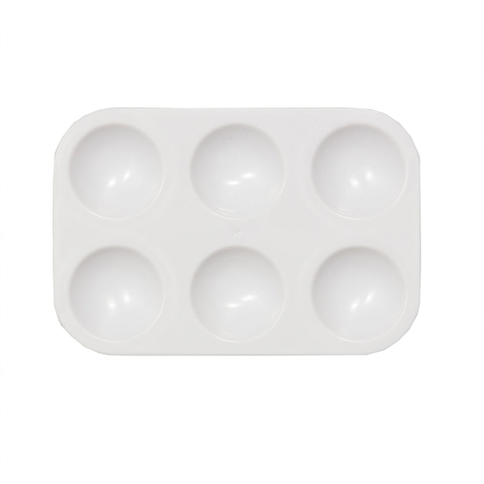 6-WELL PLASTIC TRAY