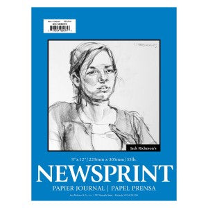 NEWSPRINT PAD 50-SHEET 18X24