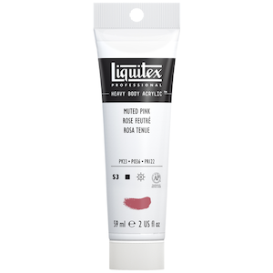 LIQUITEX HEAVY BODY 2oz TUBE MUTED PINK