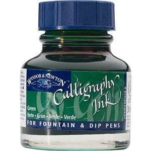 CALLIGRAPHY INK 30ml GREEN