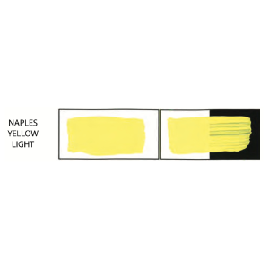 HULLS ACRYLIC 200ML TUBE NAPLES YELLOW LIGHT