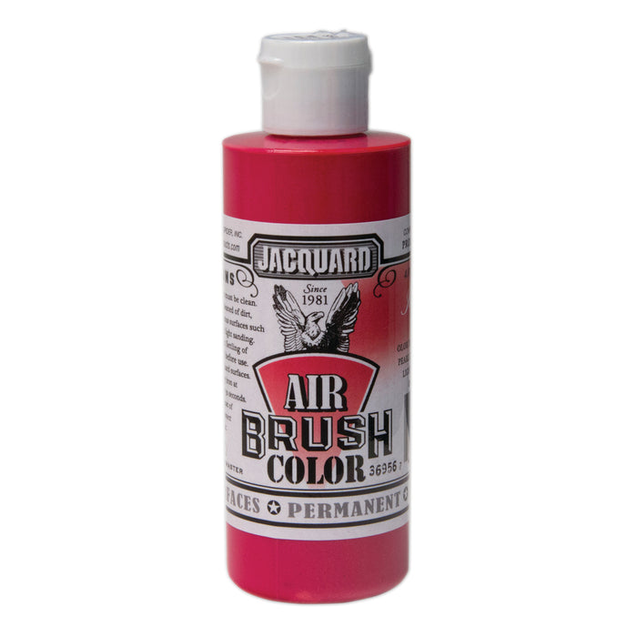 JAQ AIRBRUSH 4OZ IRIDESCENT RED