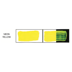 HULLS ACRYLIC 200ML TUBE NEON YELLOW