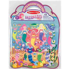 Melissa and Doug Puffy Sticker Play Set: Mermaid