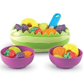 Learning Resources New Sprouts® Fresh Fruit Salad Set