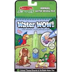 Melissa and Doug Water Wow! Animals - On the Go Travel Activity