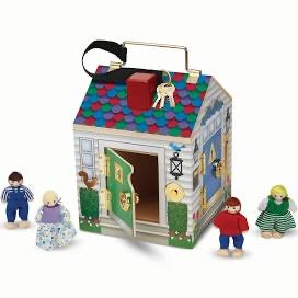 Melissa and Doug Wooden Doorbell House