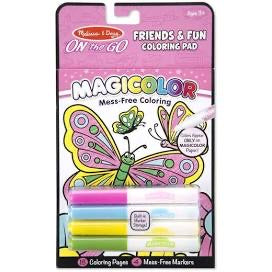 Melissa and Doug Magicolor - On the Go - Friends & Fun Coloring Pad
