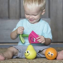 Load image into Gallery viewer, Fat Brain Fruit Friends 3-in-1 Toddler Toy