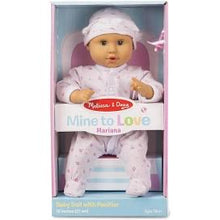 "Load image into Gallery viewer, Melissa and Doug Mine to Love - Mariana 12"" Baby Doll"