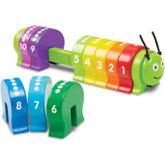 Melissa and Doug Counting Caterpillar Classic Toy