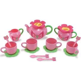 Melissa and Doug Bella Butterfly Pretend Play Tea Set