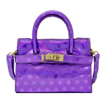 Load image into Gallery viewer, SHINY POLKA DOT STRAP BUCKLE MINI BAG