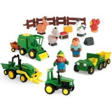 Load image into Gallery viewer, Tomy-John Deere 1st Farming Fun – Fun on the Farm Play Set
