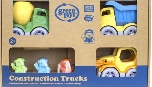 Green Toys Construction Trucks