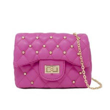 Load image into Gallery viewer, CLASSIC QUILTED STUD MINI BAG