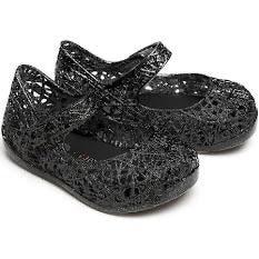 Mini Melissa Campana Mary Jane Flat-Black