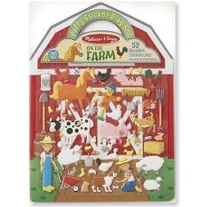 Melissa and Doug Puffy Sticker Play Set - On the Farm