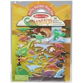 Melissa and Doug Puffy Sticker Play Set - Dinosaur