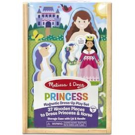Melissa and Doug Princess Magnetic Dress-Up Play Set