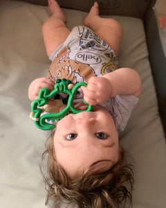 CHEW CREW SILICONE BABY TEETHER
