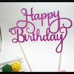 Cake Topper happy birthday