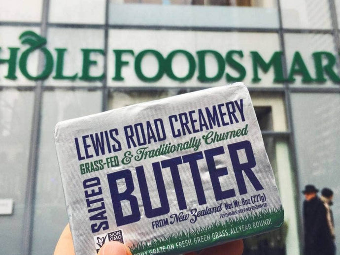 Lewis Road Creamery grass-fed butter hits Whole Foods supermarket shelves in US