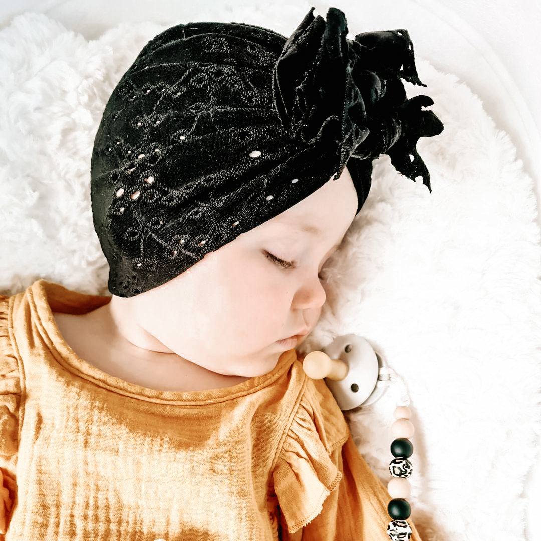 Broderie Anglaise Florence Turban (LIMITED EDITION)
