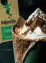SPICED RUM HOT CHOCOLATE, THE ISLANDS WAY - CALEB CAMBRIDGE