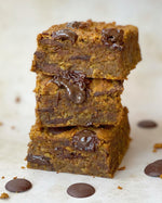 PUMPKIN CHOC CHIP OATY PROTEIN BARS - SALLY BECK