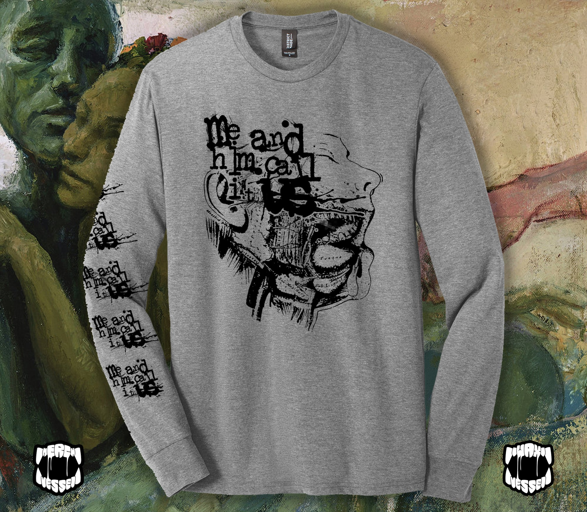 MAHCIU - Face Long Sleeve