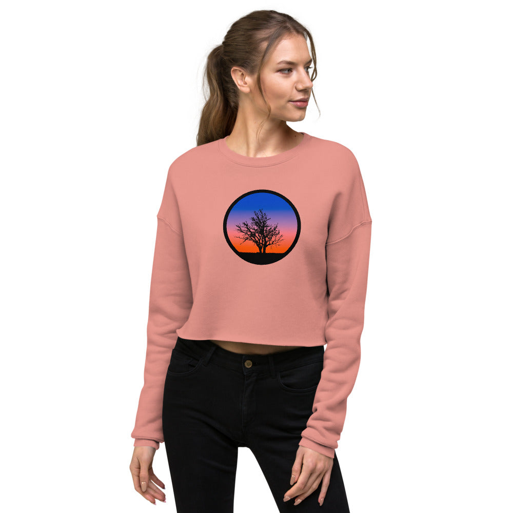 Sundown Crop Crew Neck