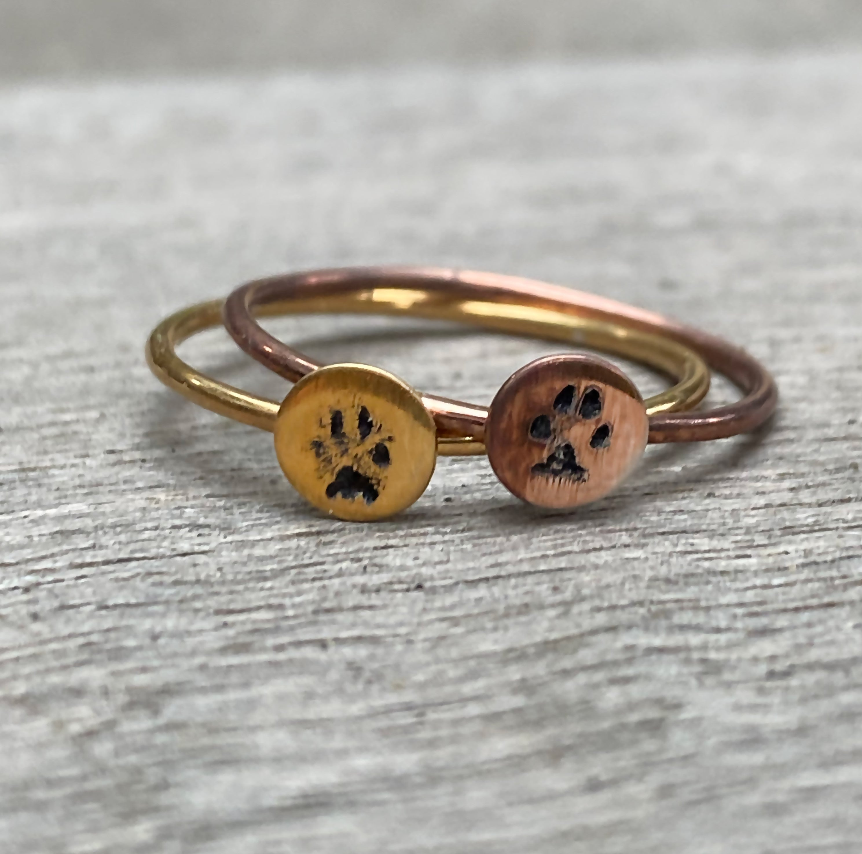 Custom Paw Ring