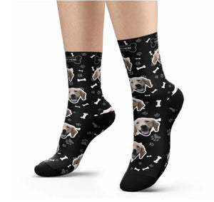 Dog Picture Socks
