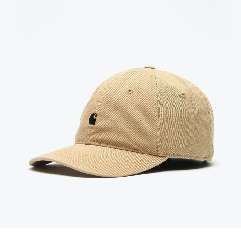 Carhartt Wip Madison Logo Cap Leather / Black