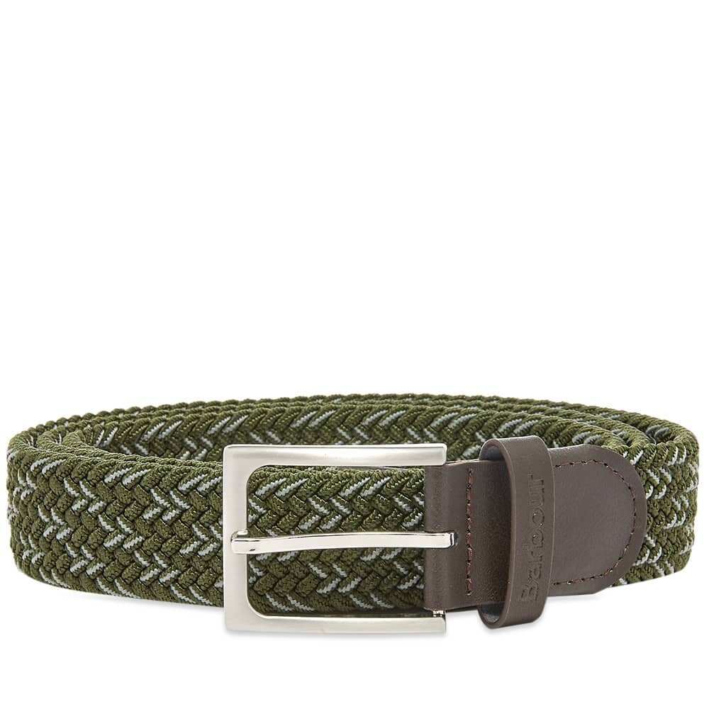Barbour Mariner Ford Belt Sage / Agave Green