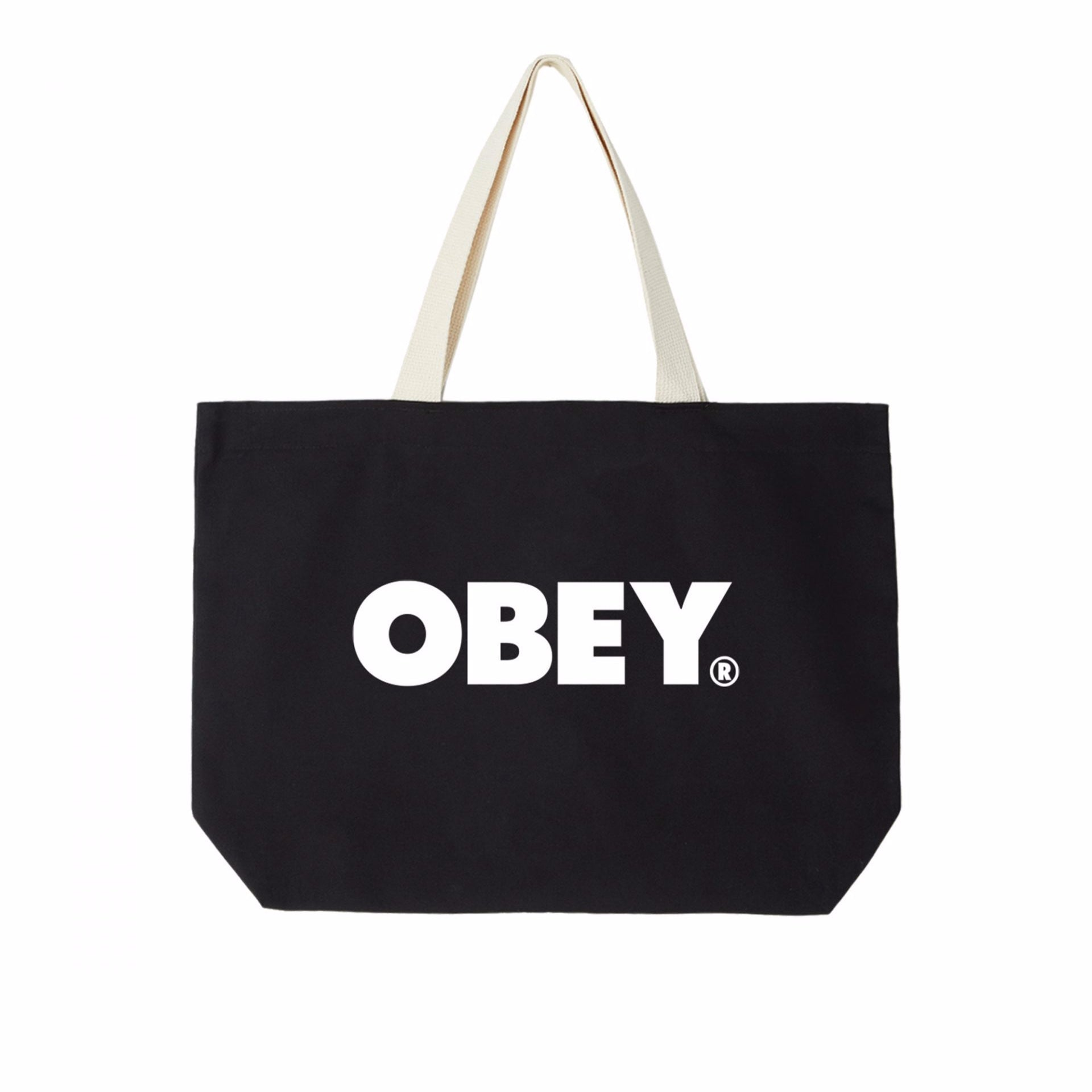 Obey Bold Tote Bag Black