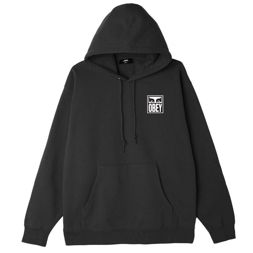 Obey Eyes Icon 2 Hood - Black