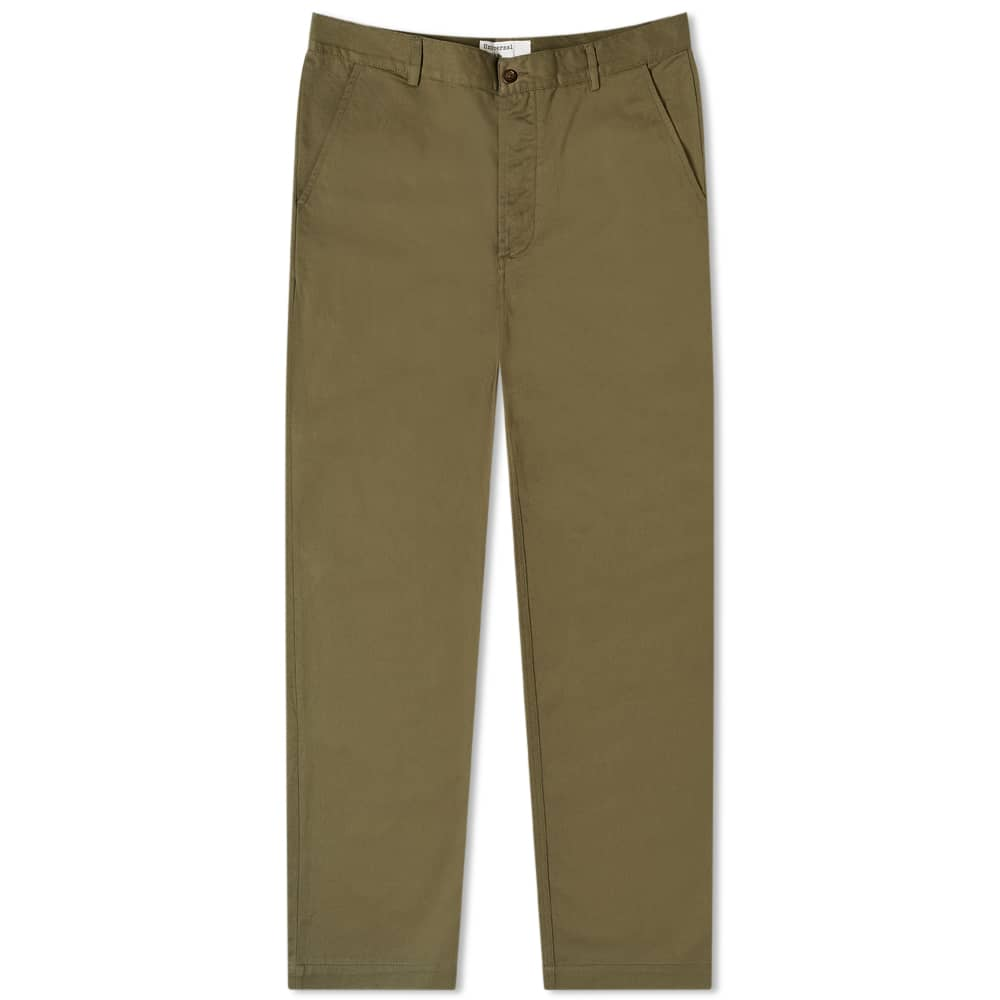 Universal Works Military Chino Light Olive