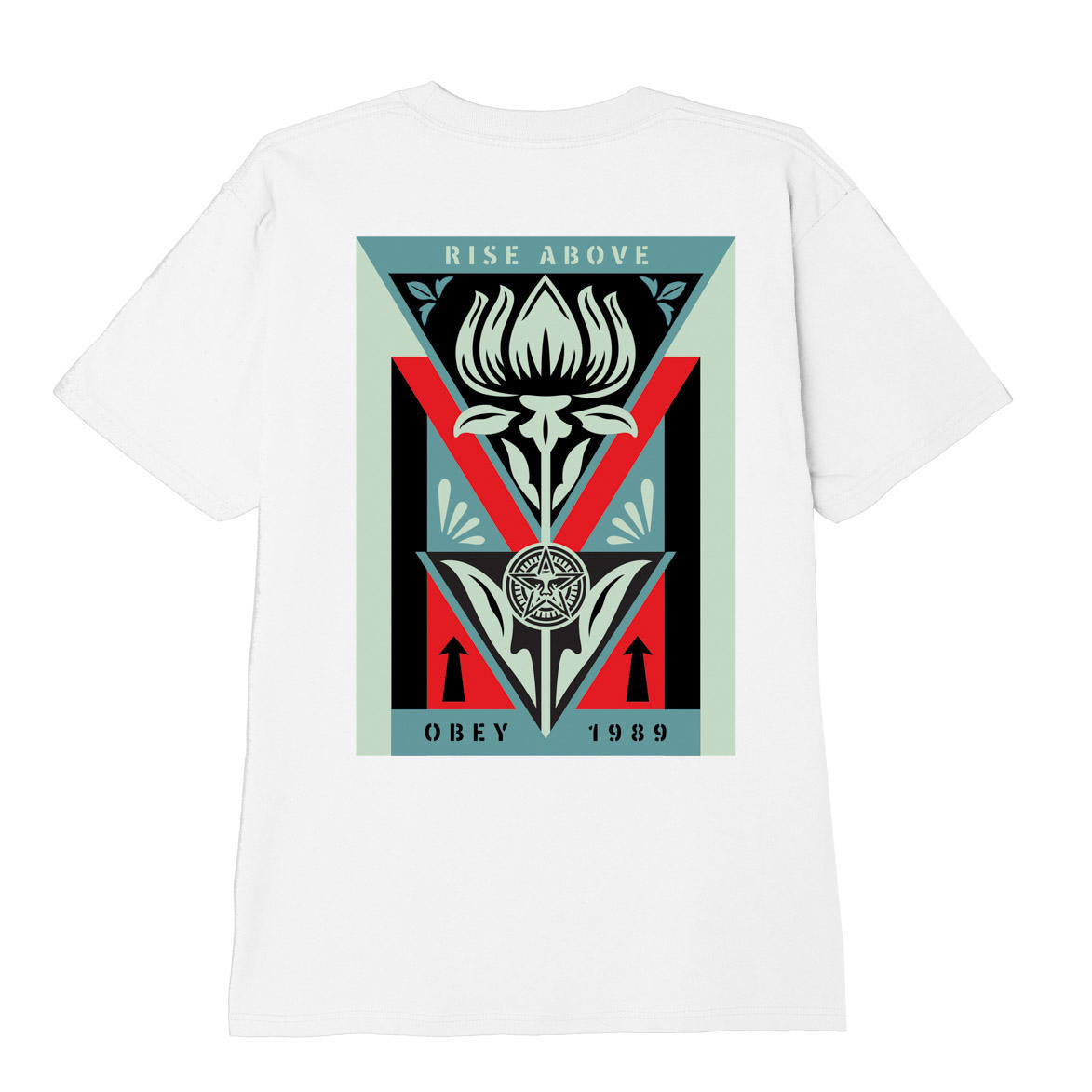 Obey Deco Flower T-Shirt White