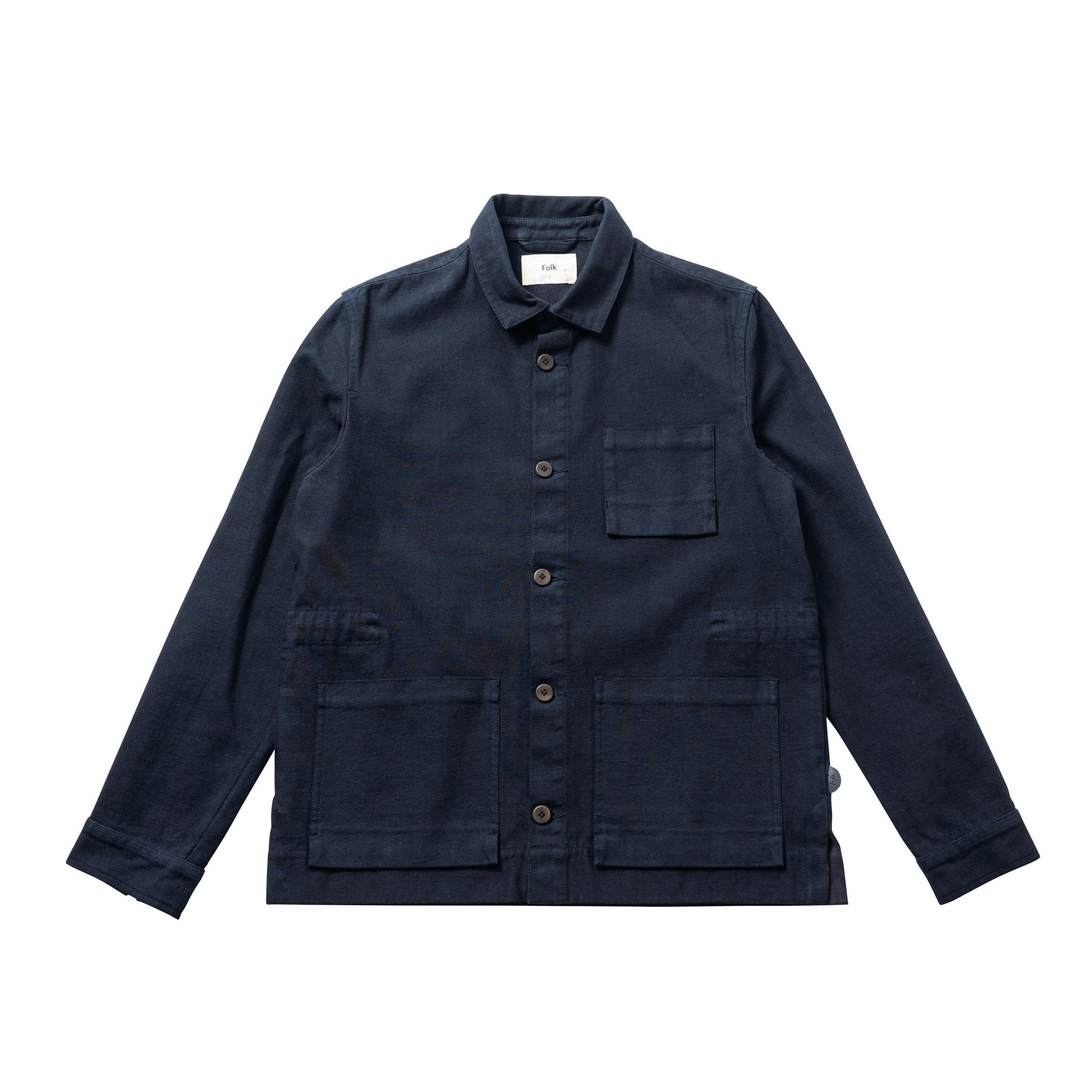 Folk Plinth Jacket Navy