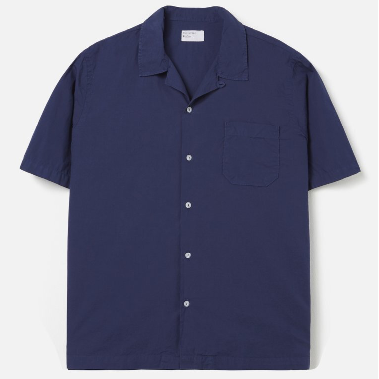 Universal Works Road Shirt Blueprint Poplin
