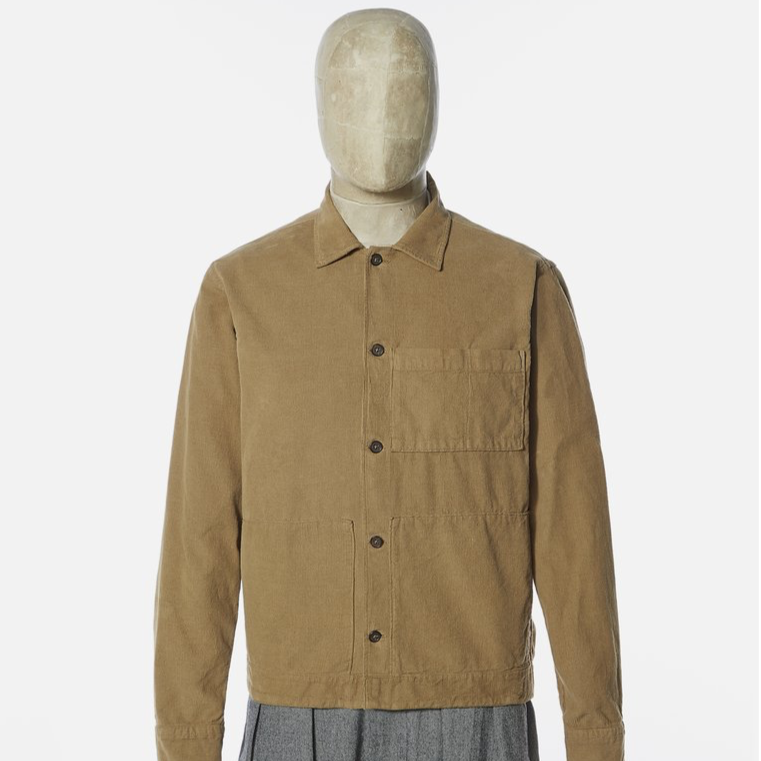 Universal Works Uniform Shirt Taupe