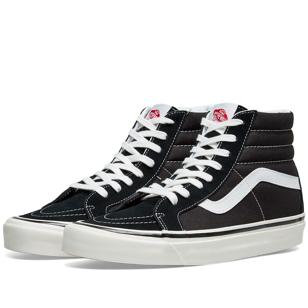 Vans Sk8 Hi 38DX Shoes Anaheim Black / White