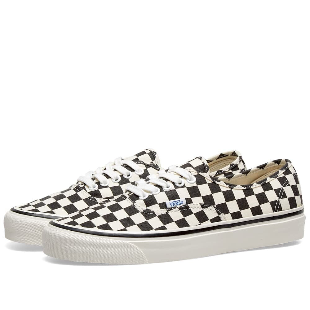 Vans Ua Authentic 44 DX Shoes Black / Check