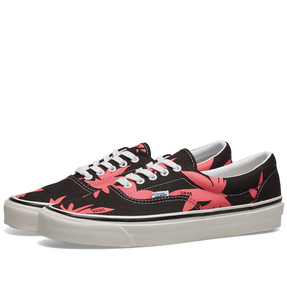 Vans Ua Era 95 DX Shoes Black/Pink/Summer Leaf